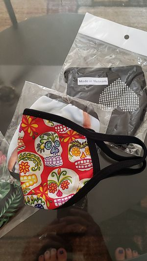Sugar skull facemask for Sale in Los Angeles, CA