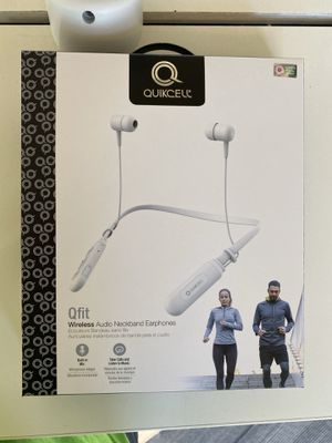 Bluetooth neckband earphones for Sale in Rancho Cucamonga, CA