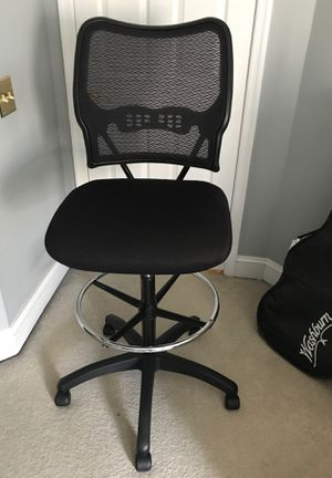 Drafting chair - never used. Adjustable height for Sale in Rockville, MD
