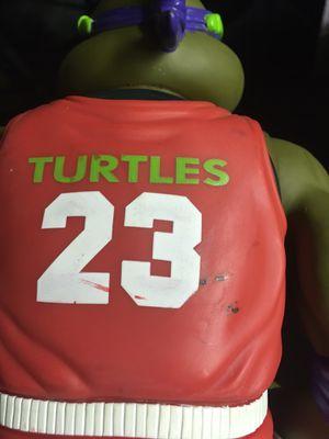 Vintage TMNT Mutant Teenage Mutant Ninja Turtles Jumbo Action Figure Collectible Michael Jordan for Sale in El Paso, TX