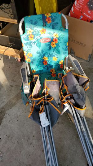 3 camping chairs for Sale in Fresno, CA