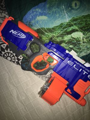 Nerf N-Strike Hyper Fire Blaster never used for Sale in West Palm Beach, FL