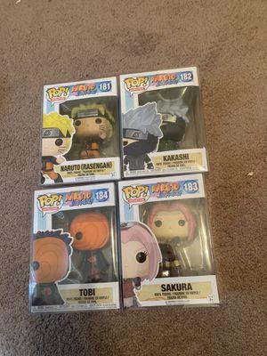 Naruto pops for Sale in Fresno, CA