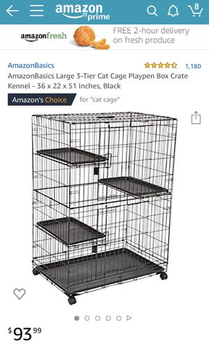 Collapsible Multilevel Cage Cage for Sale in Washington, DC