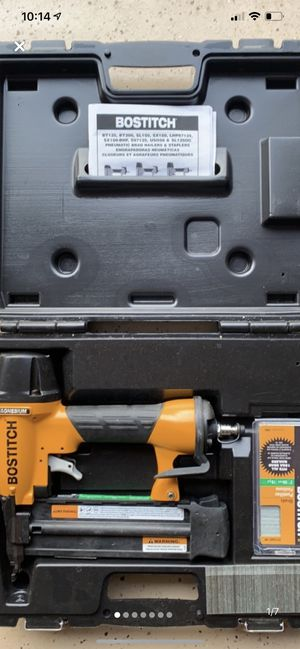 Bostitch Pneumatic Magnesium Brad Nailer for Sale in Frederick, MD
