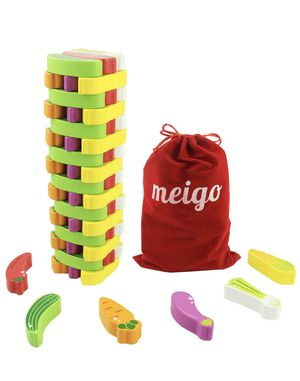 Wooden Toys - Toddler Wooden Educational Stacking Board Games Building Blocks for Kids 3 4 5 6 Year for Sale in Aurora, CO