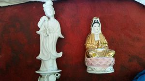 two Asian collectable statues for Sale in Kent, WA