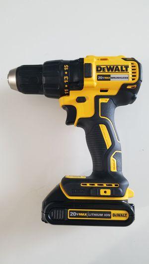 New Dewalt 20-Volt MAX Lithium-Ion 1/2 in. Drill/Driver (DCD777) for Sale in Hemet, CA