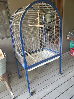 Large Plastifer Birdcage for Sale in Lakeside, AZ