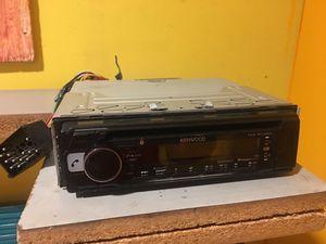 Kenwood KDC-BT368U In Dash CD Receiver Bluetooth & Aux Car Radio(stereo) for Sale in San Jose, CA