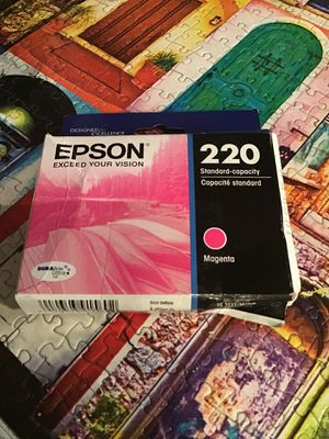 Epson 220 Magenta Ink Cartridge for Sale in Stockton, CA