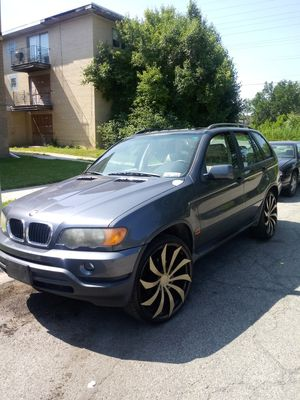 03 X5 BMW on 24s for Sale in Riverdale, IL