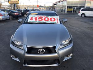 2015 Lexus GS 350,33k miles,v6,3,5l,backup camera,1 owner sunroof leather seat In-house financing is available for certain cars. Call or text {conta for Sale in Gilroy, CA