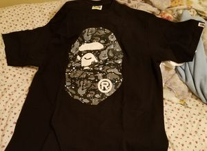 Bape Tshirt galaxy space glow in the dark *Authentic for Sale in Houston, TX