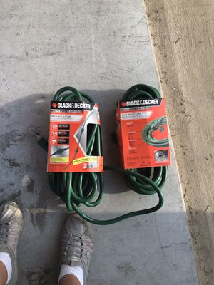 Black and decker multi outlet cord. for Sale in Port St. Lucie, FL