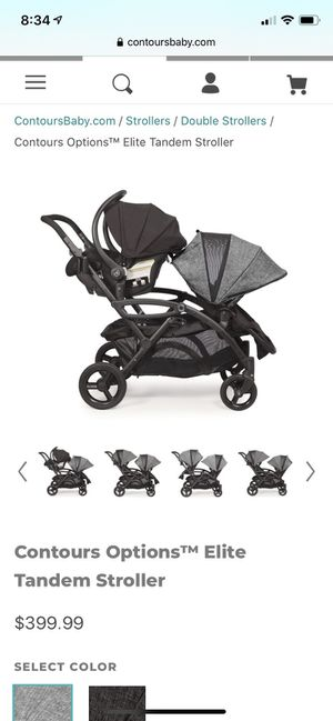 Contours Double Stroller for Sale in Nashville, TN