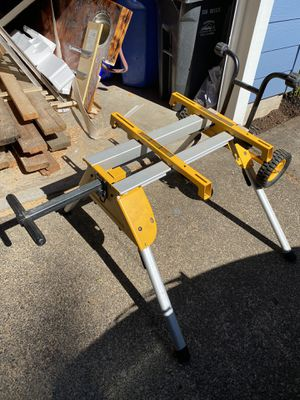 Dewalt table saw stand for Sale in Sandy, OR