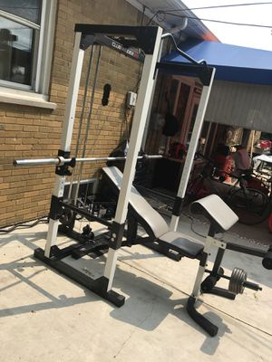 Club weider home gym full workout for Sale in Dearborn, MI