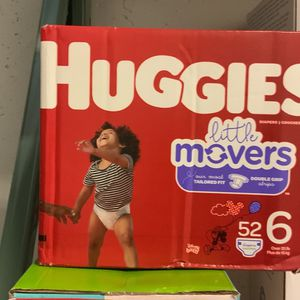 Huggies Lillie Movers Size 6 52 Count for Sale in Deerfield Beach, FL