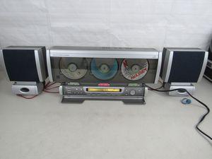 Emerson. MS3100U 3 DISC VERTICAL CD PLAYER AM/FM DIGITAL for Sale in Annandale, VA