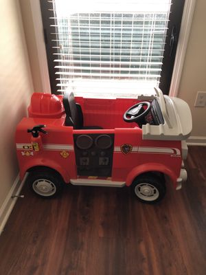 Paw Patrol Fire truck With Pedals for Sale in Alexandria, VA
