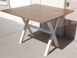 Nice New Wooden Drop Leaf Dining Room Table for Sale in Phoenix, AZ
