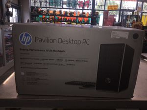 HP Pavillion Desktop PC for Sale in Irwindale, CA
