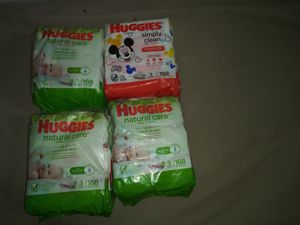 Huggies wipes for Sale in Rancho Cordova, CA
