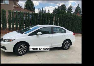 Price$1400 Honda Civic EXL for Sale in Washington, DC