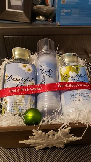 3pc Beautiful Day Bath and Body Works for Sale in Gardena, CA