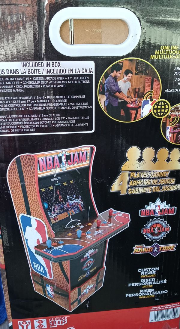 Nba jam arcade game brand new in the box