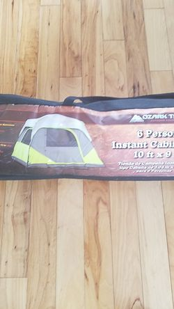 Ozark trail 6 person instant cabin tent for Sale in Wake Forest,  NC
