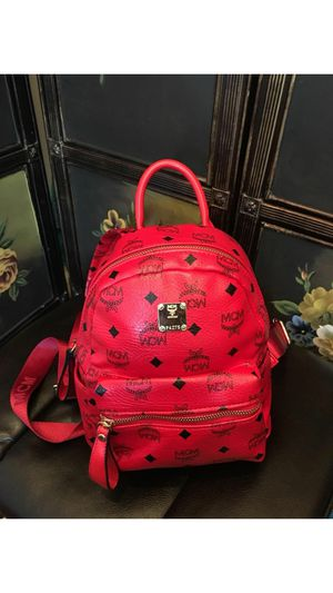 💖 Red leather luxury backpack 💖 for Sale in Washington, DC