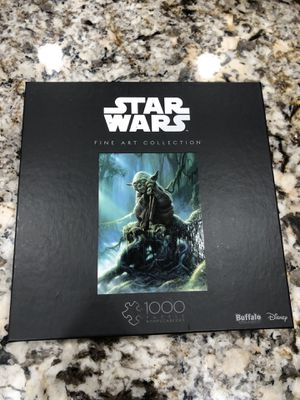 Buffalo Games & Puzzles Star Wars Yoda 1000 Piece Jigsaw Puzzle for Sale in Cooper City, FL