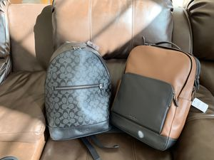 Coach Men's Large Backpacks for Sale in Bowie, MD