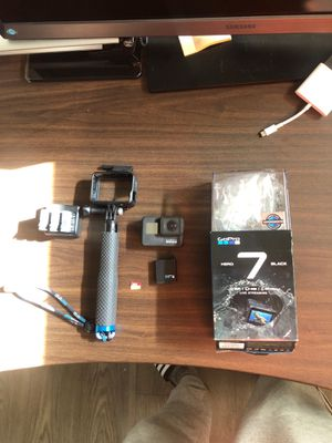 GoPro Hero 7 Black like new for Sale in Milpitas, CA