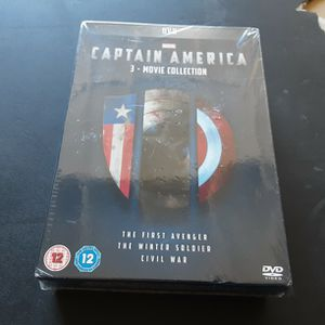 DVD Capitan America 3 Movie Collection for Sale in Lynwood, CA