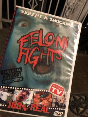 Felon Fights As Seen On TV DVD for Sale in Fresno, CA