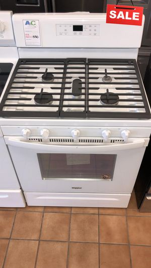BIG BARGAINS!! CONTACT TODAY! Whirlpool Gas Stove Oven 5 Burner #1497 for Sale in Baltimore, MD