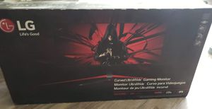 LG 34inch gsync ultrawide monitor brand new never opened for Sale in Corning, NY