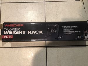 Weight rack for Sale in Palmetto Bay, FL