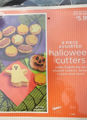 Halloween Cookie Cutters for Sale in Grover Beach, CA