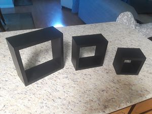 Cube wall shelves for Sale in Modesto, CA
