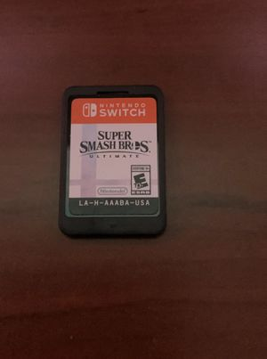 Nintendo Switch Smash Bros game for Sale in Los Angeles, CA