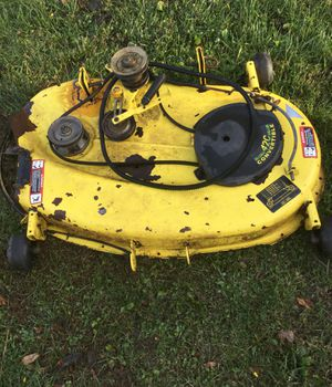 "John Deere gt225 42"" convertible mower deck for Sale in Crawfordsville, IN"