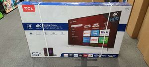 """55"""" TCL 4k UHD Smart Roku HDR LED TV for Sale in Poway, CA"""