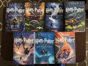 Harry Potter compleat books set for Sale in Rancho Palos Verdes, CA
