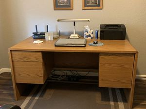 Double Pedestal Desk for Sale in Young, AZ