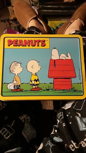 Vintage Peanuts Lunchbox for Sale in Tulsa, OK