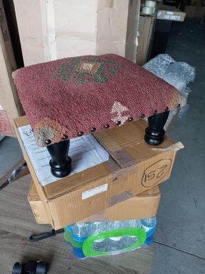 Wooden stool pair for Sale in Salt Lake City, UT